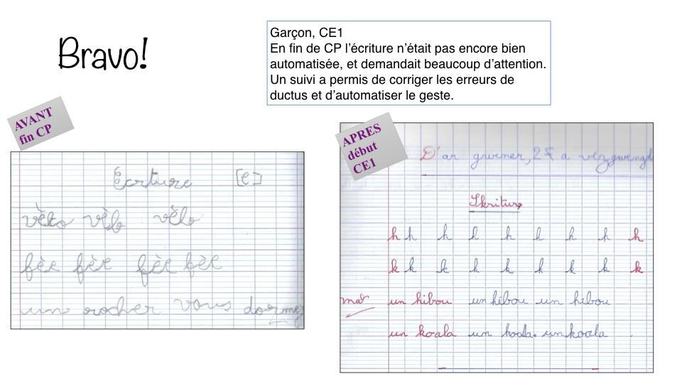Garçon CE1